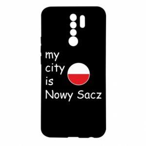 Etui na Xiaomi Redmi 9 My city is Nowy Sacz