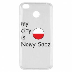 Xiaomi Redmi 4X Case My city is Nowy Sacz