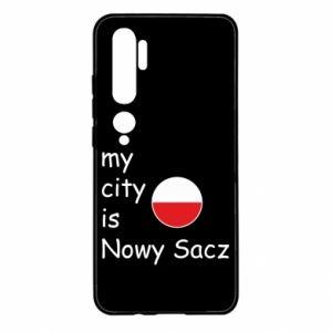 Xiaomi Mi Note 10 Case My city is Nowy Sacz
