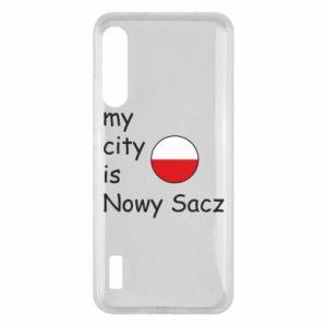 Etui na Xiaomi Mi A3 My city is Nowy Sacz