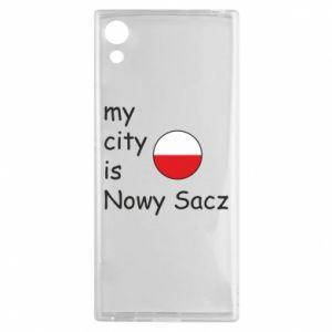 Sony Xperia XA1 Case My city is Nowy Sacz