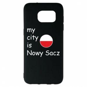 Samsung S7 EDGE Case My city is Nowy Sacz