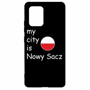 Samsung S10 Lite Case My city is Nowy Sacz
