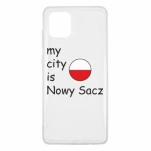 Samsung Note 10 Lite Case My city is Nowy Sacz