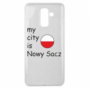 Samsung J8 2018 Case My city is Nowy Sacz