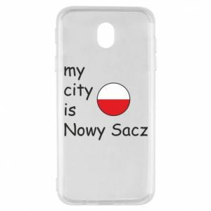 Samsung J7 2017 Case My city is Nowy Sacz