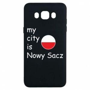 Samsung J7 2016 Case My city is Nowy Sacz