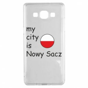 Samsung A5 2015 Case My city is Nowy Sacz