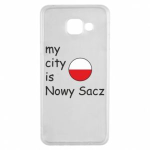 Samsung A3 2016 Case My city is Nowy Sacz