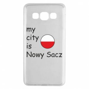 Samsung A3 2015 Case My city is Nowy Sacz