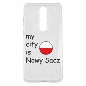 Nokia 5.1 Plus Case My city is Nowy Sacz