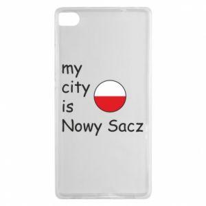 Huawei P8 Case My city is Nowy Sacz