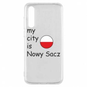 Huawei P20 Pro Case My city is Nowy Sacz