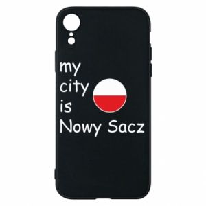 iPhone XR Case My city is Nowy Sacz