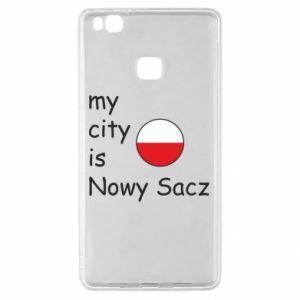 Huawei P9 Lite Case My city is Nowy Sacz