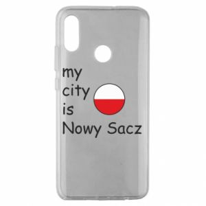 Huawei Honor 10 Lite Case My city is Nowy Sacz