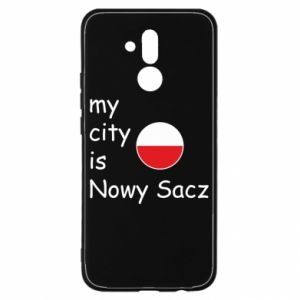 Huawei Mate 20Lite Case My city is Nowy Sacz