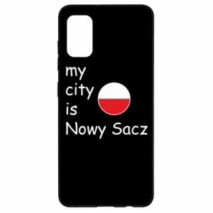Samsung A41 Case My city is Nowy Sacz