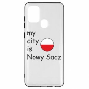 Samsung A21s Case My city is Nowy Sacz