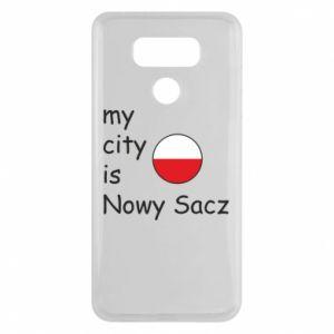 LG G6 Case My city is Nowy Sacz