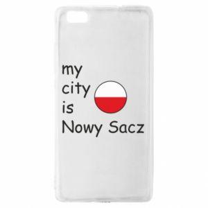 Huawei P8 Lite Case My city is Nowy Sacz