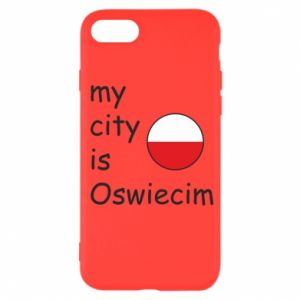 iPhone SE 2020 Case My city is Oswiecim