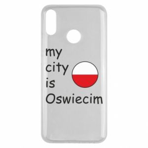 Huawei Y9 2019 Case My city is Oswiecim
