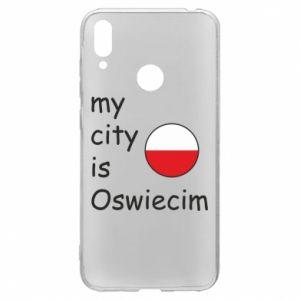 Huawei Y7 2019 Case My city is Oswiecim