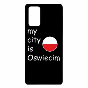 Samsung Note 20 Case My city is Oswiecim