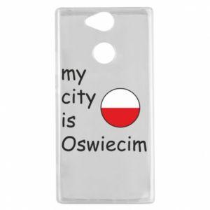 Sony Xperia XA2 Case My city is Oswiecim