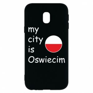 Etui na Samsung J3 2017 My city is Oswiecim