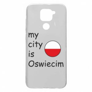 Xiaomi Redmi Note 9 / Redmi 10X case % print% My city is Oswiecim