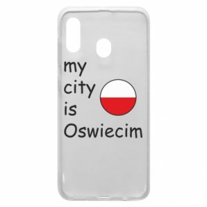 Etui na Samsung A20 My city is Oswiecim