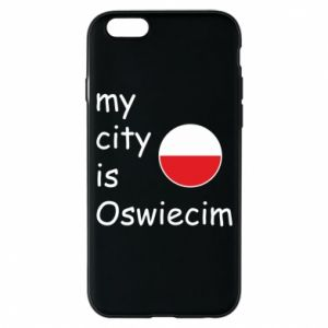 Etui na iPhone 6/6S My city is Oswiecim