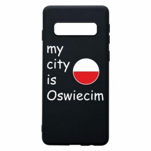 Etui na Samsung S10 My city is Oswiecim