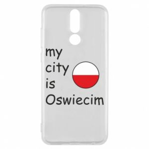 Etui na Huawei Mate 10 Lite My city is Oswiecim