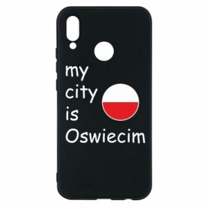 Etui na Huawei P20 Lite My city is Oswiecim