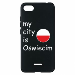 Etui na Xiaomi Redmi 6A My city is Oswiecim