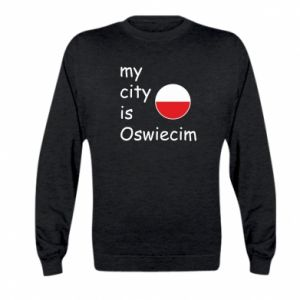 Kid's sweatshirt My city is Oswiecim