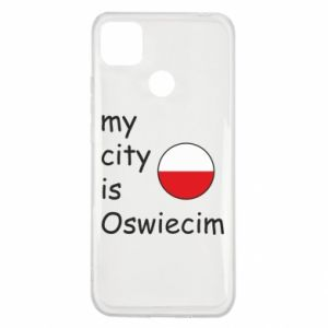 Xiaomi Redmi 9c Case My city is Oswiecim