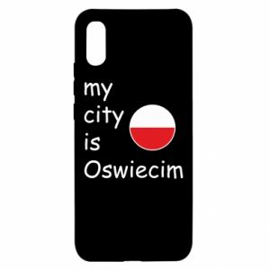 Xiaomi Redmi 9a Case My city is Oswiecim