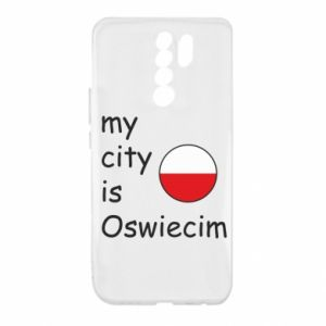 Xiaomi Redmi 9 Case My city is Oswiecim