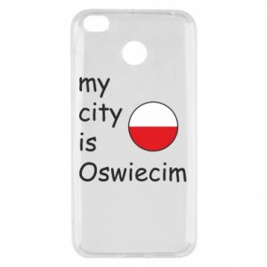 Xiaomi Redmi 4X Case My city is Oswiecim