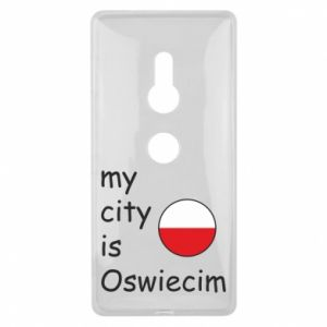 Sony Xperia XZ2 Case My city is Oswiecim