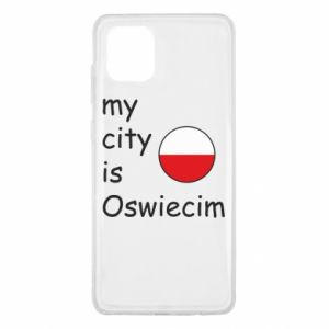 Samsung Note 10 Lite Case My city is Oswiecim