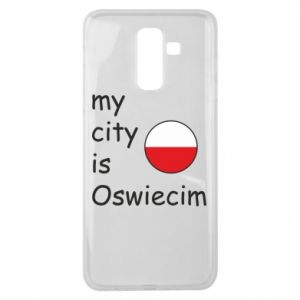 Samsung J8 2018 Case My city is Oswiecim