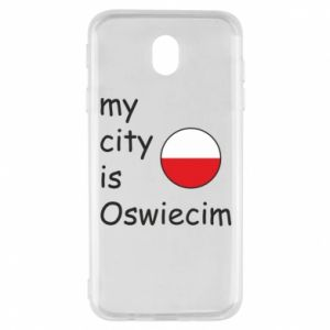 Samsung J7 2017 Case My city is Oswiecim