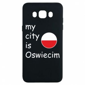Samsung J7 2016 Case My city is Oswiecim
