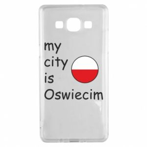 Samsung A5 2015 Case My city is Oswiecim