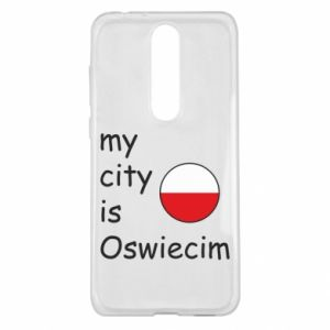 Nokia 5.1 Plus Case My city is Oswiecim
